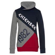 CHIEMSEE Sweatshirt marine / grau