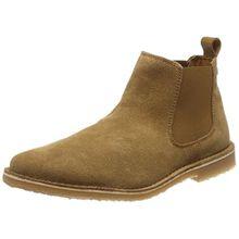 JACK & JONES Herren Jfwleo Suede Tan Chelsea Boots, Braun (Tan), 45 EU