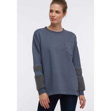 DreiMaster Sweatshirt dunkelgrau Damen