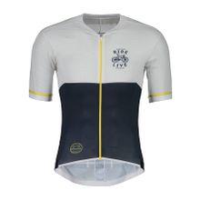 Maloja - PushbikersM. Race 1/2 Herren Bike Trikot (weiß/dunkelblau) - XL