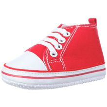 Playshoes Baby Turnschuhe, Sneaker 121535, Unisex-Kinder Sneaker, Rot (rot 8), EU 16
