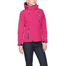 Geographical Norway Damen Sweatjacke Tehouda Lady Assort A, Rosa (Flashy Pink), Large (Herstellergröße: 3)