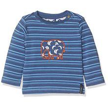 Noppies Baby-Jungen Langarmshirt B Tee LS Delaware, Blau (Indigo Blue C146), 74