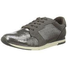TAMARIS Damen Plateau High Top Sneakers Grün, Schuhgröße:EUR 39