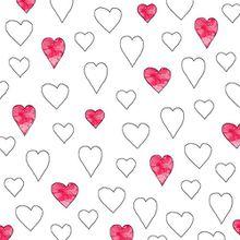 Avant Garde Cocktail Servietten Motiv Herzen für Valentinstag Muttertag 25 x 25 cm