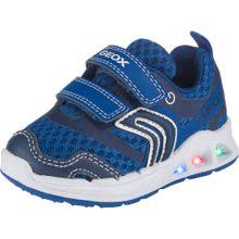 GEOX Sneakers Low 'Dakin Boy' blau / weiß