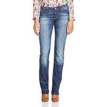 Mavi Damen Straight Leg Jeans OLIVIA, Gr. W28/L36, Blau (Dark Rome Str 19303)