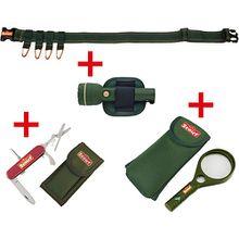 Scout Naturentdecker-Set, 4-tlg. grün
