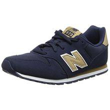 New Balance Unisex-Kinder Kj373y Sneaker, Blau (Navy), 35 EU
