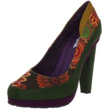 Desigual MELBOURNE 27PS367, Damen Klassische Pumps, Orange (Naranja Tierra 7015), EU 38