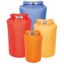 Exped - Fold Drybag CS - Packsack Gr 13 l - L;5 l - S;8 l - M weiß/blau;weiß/orange;weiß/rot