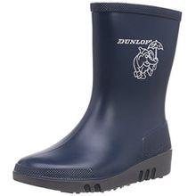 Dunlop Kinder Gummistiefel Acifort Mini blau23, Unisex-Kinder Halbschaft Gummistiefel, Blau (Blau(Blauw) 04), 23 EU