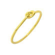 Ring Knoten, 18 K Gelbgold vergoldet