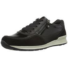 ara Helsinki, Damen Sneakers, Schwarz (Schwarz 01), 38 EU