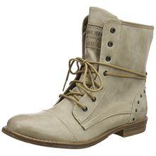 Mustang 1157-508, Damen Kurzschaft Stiefel, Elfenbein (243 Ivory), 41 EU (7.5 Damen UK)