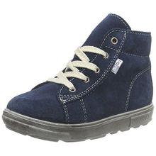 Ricosta Zaini, Unisex-Kinder Hohe Sneakers, Blau (Pavone 140), 21 EU (5 Kinder UK)