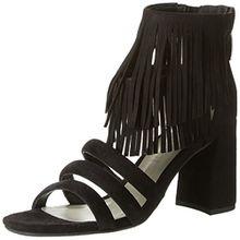 GERRY WEBER Shoes Damen Tatjana 01 Sandalen, Schwarz (Schwarz), 39 EU