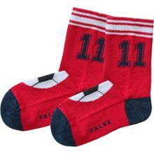 FALKE Socken navy / rot / weiß