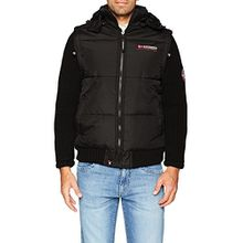 Geographical Norway Herren Jacke Colmar Men, Schwarz (Black), Small