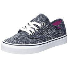 Vans Damen Wm Camden Stripe Sneakers, Blau (Snake Jacquard), 37 EU