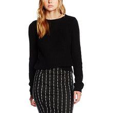 VERO MODA Damen Bluse Vmlex LS Blouse Noos, Schwarz (Black), 38 (Herstellergröße: M)
