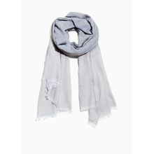 Lightweight Cotton Scarf - Grey