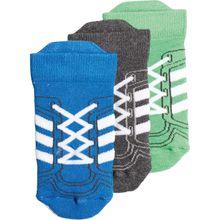 adidas Performance Baby 3er Pack Socken für Jungen blau Junge