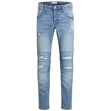 JACK & JONES Glenn Jjdust Nz 713 Slim Fit Jeans Herren Blau