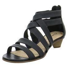 Clarks Sandaletten MENA SILK Klassische Sandaletten schwarz Damen