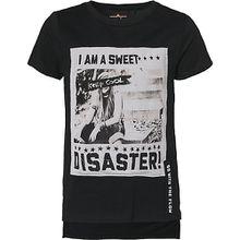 T-Shirt  schwarz Mädchen Kinder