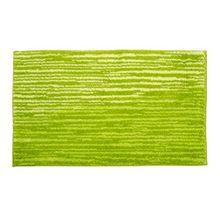Schöner Wohnen Kollektion Mauritius, Badteppich, Badematte, Badvorleger, Design Streifen - grün, Oeko-Tex 100 zertifiziert, 70 x 120 cm