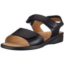Ganter SONNICA 9-202857-01000, Damen Sandalen/Fashion-Sandalen, schwarz, (schwarz 0100), EU 37, UK 4 (UK 4), Weite E