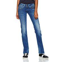 Pepe Jeans Damen Venus Jeans, Blau (Denim), W25/L32 (Herstellergröße: 25)
