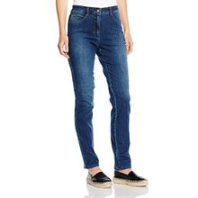 Brax Damen Slim Jeanshose 70-3000, MARY, Blau (USED REGULAR BLUE 25), W38/L32 (Herstellergröße: 48)
