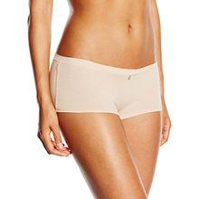 Skiny Damen Panties Cotton Lovers Pant, Einfarbig, Gr. 40, Beige (SKIN 9622)