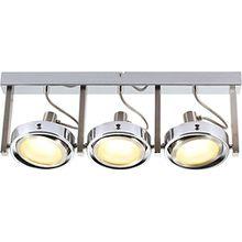 LED Deckenstrahler 3 Flammig Schwenkbar Deckenspot Deckenlampe bewegliche Spots Flurlampe (Deckenleuchte, Deckenbeleuchtung, Schlafzimmerlampe, Wohnzimmerlampe, 52 cm, 3 x 5 Watt)