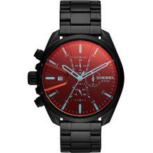 DIESEL Uhr rot / schwarz