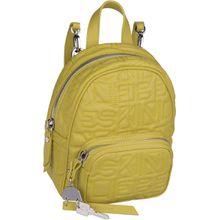 Liebeskind Berlin Rucksack / Daypack Urban Monogram Backpack S Senf Yellow