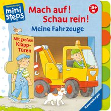 Ravensburger ministeps® Mach auf! Schau rein! Meine Fahrzeuge