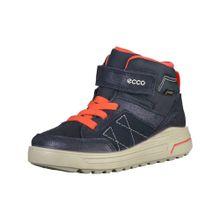 ECCO Sneaker blau / rot
