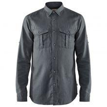 Fjällräven - Övik Travel Shirt L/S - Hemd Gr L;M;XL;XXL grau;schwarz/grau;grau/oliv