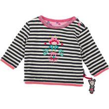 SIGIKID Sweatshirt pink / schwarz / weiß
