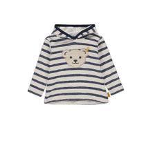 STEIFF Sweatshirt marine / weiß