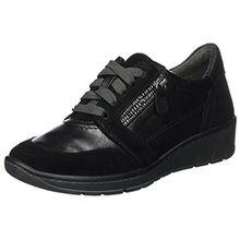 Jana Damen 23701 Sneaker, Schwarz (Black), 39 EU