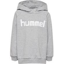 Hummel Pullover graumeliert / weiß