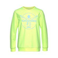 CHIEMSEE Sweatshirt hellblau / kiwi