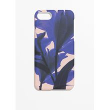 Tropical Flower iPhone Case - Blue