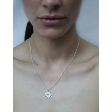 The 'BADABOOM' necklace  silver