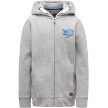 Petrol Industries Sweater royalblau / grau / silber / weiß