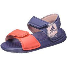 adidas Unisex Baby Altaswim Sandalen, Violett (Super Purple/Haze Coral/Easy Coral), 25 EU